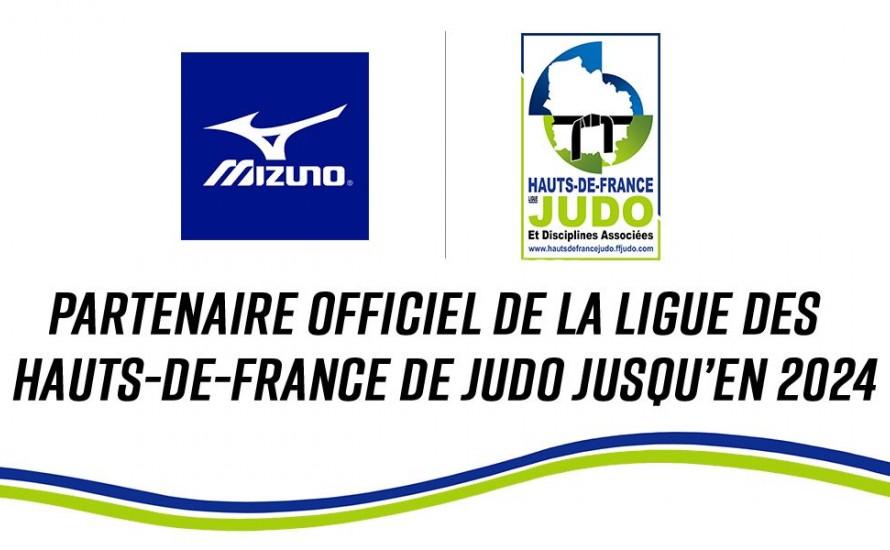 LA LIGUE DES HAUTS DE FRANCE DE JUDO RENOUVELLE SON PARTENARIAT AVEC MIZUNO POUR 4 ANS